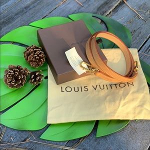 Brand NWT Authentic Louis Vuitton Strap